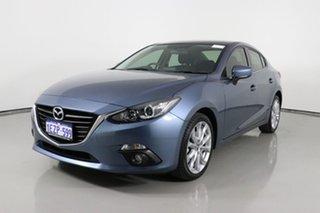 2015 Mazda 3 BM SP25 Blue 6 Speed Automatic Sedan.
