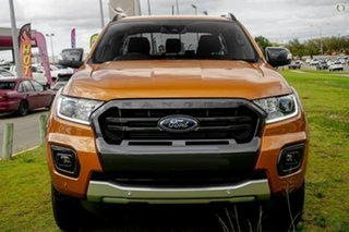 2020 Ford Ranger PX MkIII 2021.25MY Wildtrak Orange 6 Speed Sports Automatic Double Cab Pick Up.
