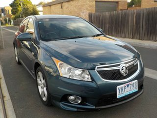 2011 Holden Cruze JH SRi V Blue 6 Speed Automatic Sedan.