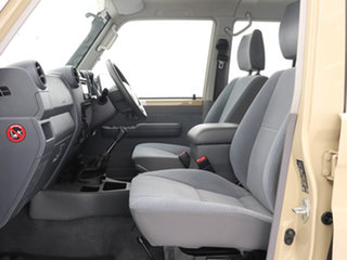 2019 Toyota Landcruiser VDJ79R GXL (4x4) Sandy Taupe 5 Speed Manual Double Cab Chassis