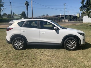 2015 Mazda CX-5 KE1072 Maxx SKYACTIV-Drive Sport White 6 Speed Sports Automatic Wagon