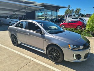 2017 Mitsubishi Lancer CF MY17 Black Edition Grey 6 Speed Constant Variable Sedan.