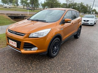 2014 Ford Kuga TF Ambiente AWD Orange 6 Speed Sports Automatic Wagon.