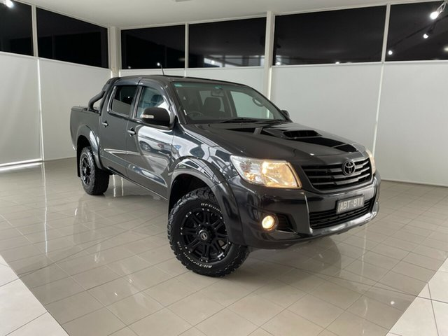Used Toyota Hilux KUN26R MY14 SR5 Double Cab Deer Park, 2014 Toyota Hilux KUN26R MY14 SR5 Double Cab Black 5 Speed Automatic Utility