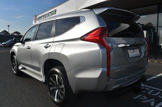 2018 Mitsubishi Pajero Sport QE MY19 GLS Silver 8 Speed Sports Automatic Wagon.