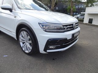 2017 Volkswagen Tiguan 5N MY18 162TSI DSG 4MOTION Highline Pure White 7 Speed Automatic Wagon