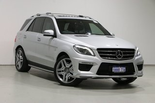 2015 Mercedes-Benz ML63 AMG 166 MY15 4x4 Silver 7 Speed Automatic Wagon.