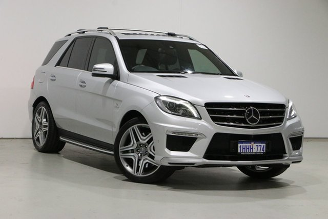 Used Mercedes-Benz ML63 AMG 166 MY15 4x4 Bentley, 2015 Mercedes-Benz ML63 AMG 166 MY15 4x4 Silver 7 Speed Automatic Wagon