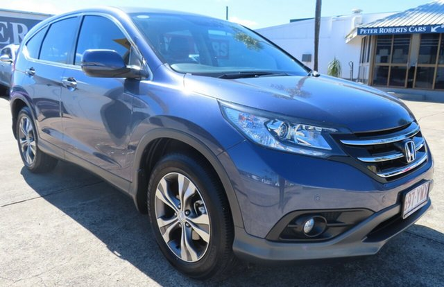 Used Honda CR-V 30 MY15 VTi (4x2) Toowoomba, 2014 Honda CR-V 30 MY15 VTi (4x2) Blue 5 Speed Automatic Wagon