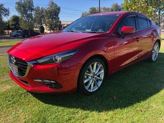 2017 Mazda 3 BN5238 SP25 SKYACTIV-Drive GT Soul Red 6 Speed Sports Automatic Sedan.