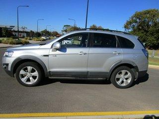 2011 Holden Captiva CG Series II 7 CX (4x4) Silver 6 Speed Automatic Wagon