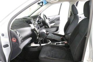 2017 Nissan Navara D23 Series II ST (4x4) Silver 6 Speed Manual Dual Cab Utility