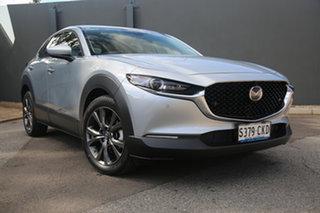 2020 Mazda CX-30 DM2W7A G20 SKYACTIV-Drive Astina Sonic Silver 6 Speed Sports Automatic Wagon.