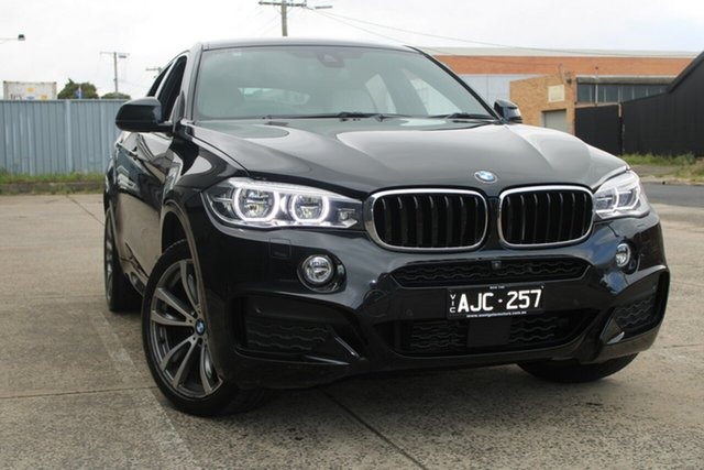 Used BMW X6 F16 MY16 xDrive30d West Footscray, 2016 BMW X6 F16 MY16 xDrive30d 8 Speed Automatic Coupe