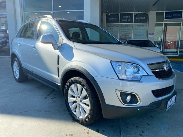 Used Holden Captiva CG MY15 5 LT Ravenhall, 2015 Holden Captiva CG MY15 5 LT Silver 6 Speed Sports Automatic Wagon