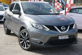 2017 Nissan Qashqai J11 TI Grey 1 Speed Constant Variable Wagon.