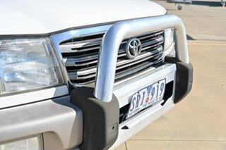 2003 Toyota Landcruiser UZJ100R Sahara White 5 Speed Automatic Wagon.