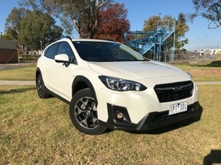 2019 Subaru XV MY19 2.0I White Continuous Variable Wagon.