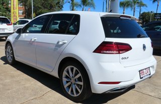 2019 Volkswagen Golf AU MY19 110 TSI Comfortline White 7 Speed Auto Direct Shift Hatchback