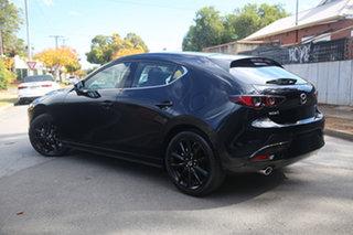 2021 Mazda 3 BP2HL6 G25 SKYACTIV-MT Astina Jet Black 6 Speed Manual Hatchback