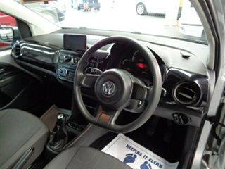 2013 Volkswagen UP! Type AA MY13 Silver 5 Speed Manual Hatchback