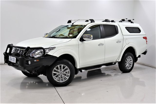Used Mitsubishi Triton MQ MY16 GLS Double Cab Brooklyn, 2016 Mitsubishi Triton MQ MY16 GLS Double Cab White 5 Speed Sports Automatic Utility