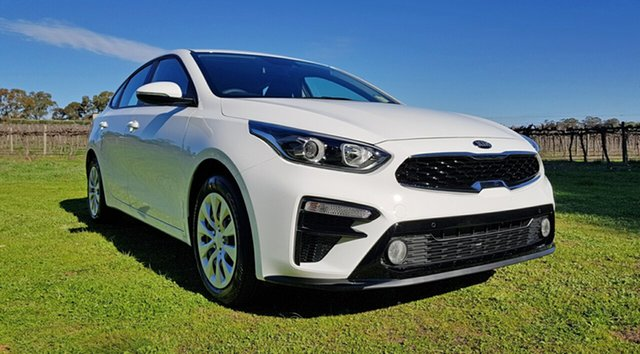 Demo Kia Cerato BD MY21 S Nuriootpa, 2021 Kia Cerato BD MY21 S Clear White 6 Speed Automatic Hatchback