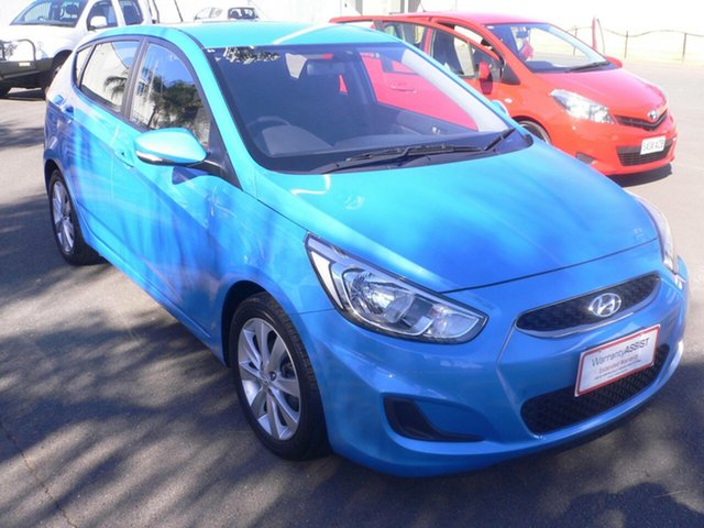 Used Hyundai Accent RB6 MY18 Sport St Marys, 2018 Hyundai Accent RB6 MY18 Sport Blue 6 Speed Sports Automatic Hatchback