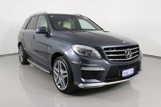 2014 Mercedes-Benz ML63 AMG 166 MY14 4x4 Grey 7 Speed Automatic Wagon.