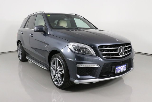 Used Mercedes-Benz ML63 AMG 166 MY14 4x4 Bentley, 2014 Mercedes-Benz ML63 AMG 166 MY14 4x4 Grey 7 Speed Automatic Wagon