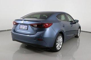 2015 Mazda 3 BM SP25 Blue 6 Speed Automatic Sedan