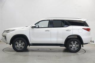 2018 Toyota Fortuner GUN156R GXL White 6 Speed Automatic Wagon.