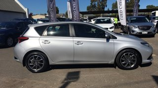 2015 Toyota Corolla ZRE182R Ascent S-CVT Billet Silver 7 Speed Constant Variable Hatchback
