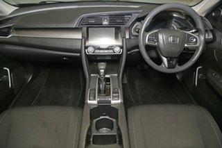 2017 Honda Civic 10th Gen MY16 VTi Black 1 Speed Constant Variable Sedan