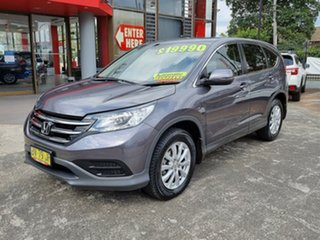 2013 Honda CR-V RM MY14 VTi Grey 5 Speed Automatic Wagon.