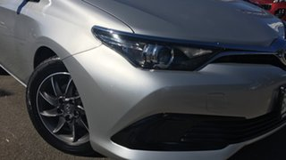 2015 Toyota Corolla ZRE182R Ascent S-CVT Billet Silver 7 Speed Constant Variable Hatchback.