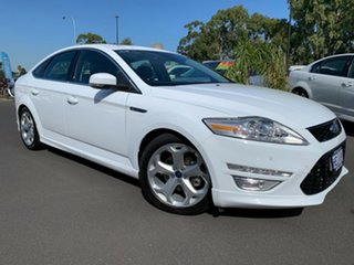 2012 Ford Mondeo MC Titanium EcoBoost White 6 Speed Sports Automatic Dual Clutch Hatchback.