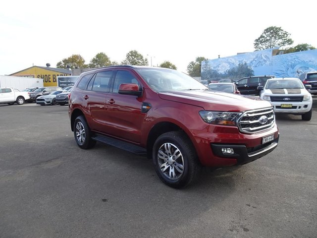 Used Ford Everest UA 2018.00MY Ambiente Nowra, 2017 Ford Everest UA 2018.00MY Ambiente Sunset 6 Speed Automatic SUV