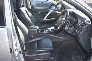 2018 Mitsubishi Pajero Sport QE MY19 GLS Silver 8 Speed Sports Automatic Wagon