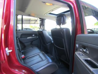 2010 Jeep Cherokee KK MY10 Limited Red 4 Speed Automatic Wagon