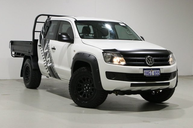 Used Volkswagen Amarok 2H MY16 TDI420 Core Edition (4x4) Bentley, 2016 Volkswagen Amarok 2H MY16 TDI420 Core Edition (4x4) White 8 Speed Automatic Dual Cab Chassis