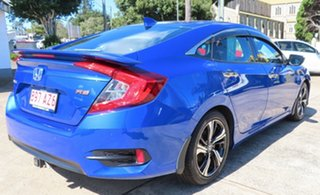 2016 Honda Civic MY16 RS Blue Continuous Variable Sedan.