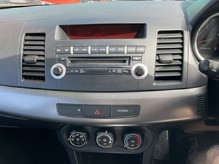 2011 Mitsubishi Lancer CJ MY11 ES Sportback White 6 Speed CVT Auto Sequential Hatchback