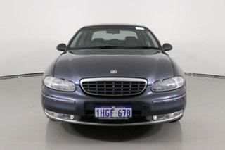 2001 Holden Statesman WH International Grey 4 Speed Automatic Sedan.