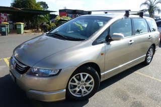 2004 Honda Odyssey 3rd Gen Luxury Gold Metallic 5 Speed Sports Automatic Wagon