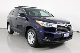 2015 Toyota Kluger GSU55R GX (4x4) Blue 6 Speed Automatic Wagon.