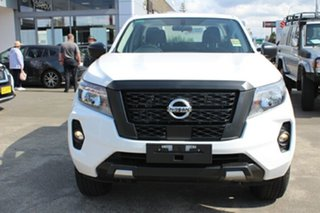 2021 Nissan Navara D23 Dual Cab SL Pick Up 4x4 Solid White 7 Speed Automatic Utility.