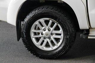 2013 Toyota Hilux KUN26R MY12 SR5 (4x4) Glacier White 4 Speed Automatic Dual Cab Pick-up