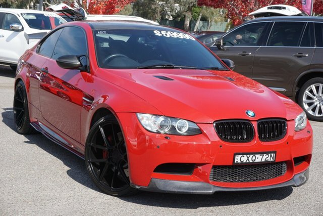 Used BMW M3 E92 MY0911 M-DCT Phillip, 2012 BMW M3 E92 MY0911 M-DCT Red 7 Speed Sports Automatic Dual Clutch Coupe
