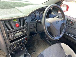 2008 Hyundai Getz TB Upgrade SX Red 5 Speed Manual Hatchback